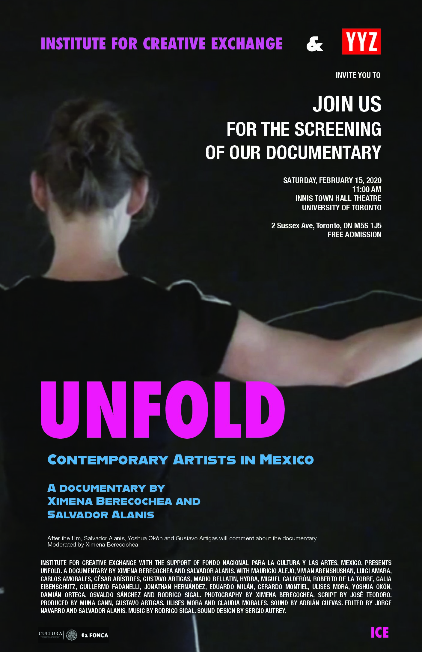 Unfold: A documentary film by Ximena Berecochea and Salvador Alanis